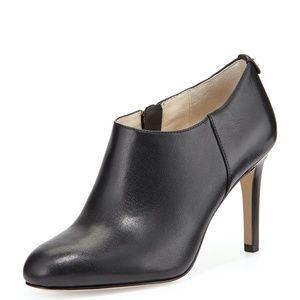 Michael Kors Sammy Napa Leather Ankle Boot, Black